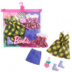 BARBIE FASHION 2-PAKKE GUL...