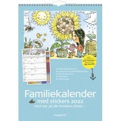 FAMILIEKALENDER M.STICKERS...