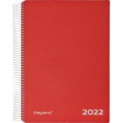 TIMEKALENDER 2022 RØD 22218010