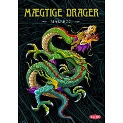MÆGTIGE DRAGER MALEBOG