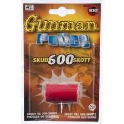 GUNNMAN POLICE SKUD 600 SKOTT