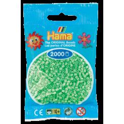 HAMA MINI PASTEL GRØN 501-47