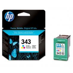 HP 343 FARVE SAMPAK ORIGINAL