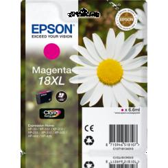 EPSON T18XL RØD ORIGINAL
