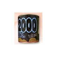 SPAREBØSSER DÅSE 2000 KR